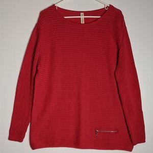 Skovhuus Organic Cotton Ribbed Sweater Lagenlook